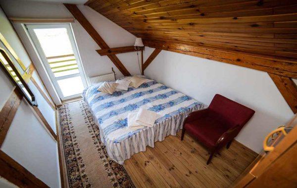 Pokoj 2-osobowy na Piętrze z Widokiek na Morze