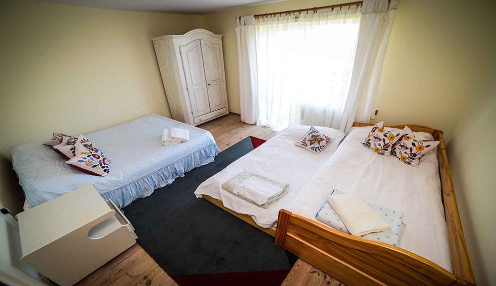 Pokoj 3-osobowy na Piętrze z Widokiem na Morze